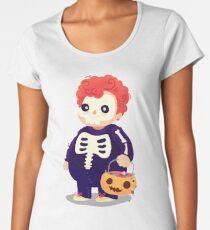 Halloween Kids - Skeleton Frauen Premium T-Shirts