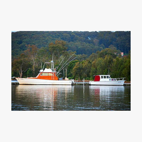 Boating Duel! Photographic Print