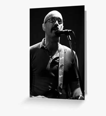 Joe lead singer of Fred Greeting Card