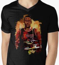 MJ sneakers Men's V-Neck T-Shirt