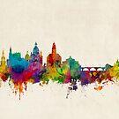 Dresden Germany Skyline by Michael Tompsett