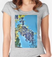 Backlit Wisteria (HDRI) Women's Fitted Scoop T-Shirt