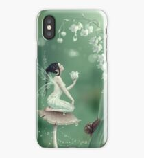 Lily of the Valley Flower Fairy iPhone Case/Skin
