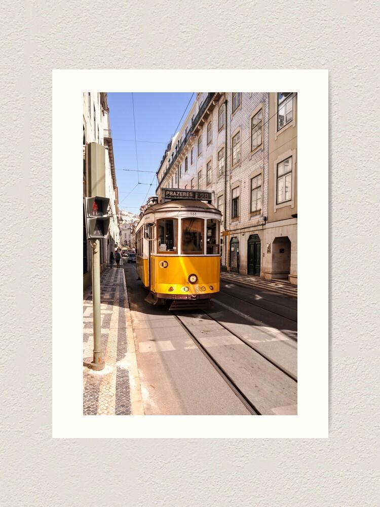 Alternate view of Lisbon tram Art Print