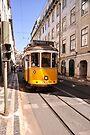 Lisbon tram by Marcel Ilie