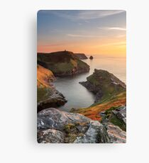 Boscastle Harbour Canvas Print