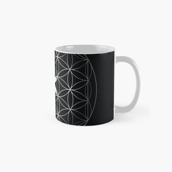 The Flower of Life | Silver Classic Mug