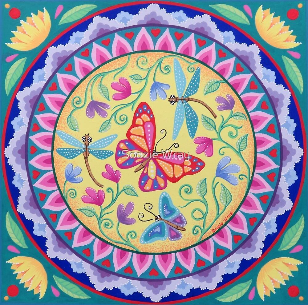 Spring Melody Mandala by Soozie Wray