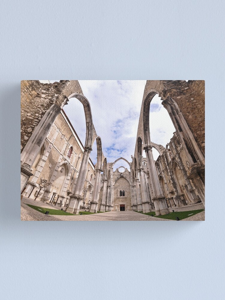 Alternate view of Carmo Convent Canvas Print
