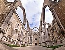 Carmo Convent by Marcel Ilie
