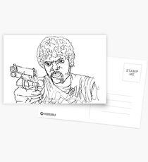 Jules Winnfield Postcards