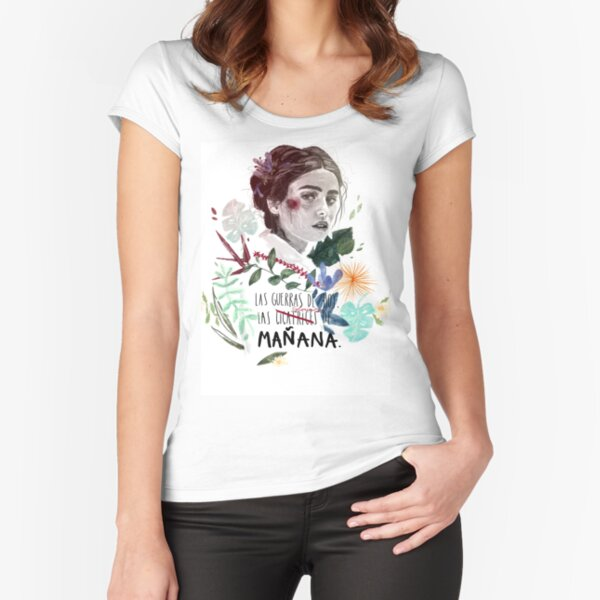 LILI by elenagarnu Fitted Scoop T-Shirt