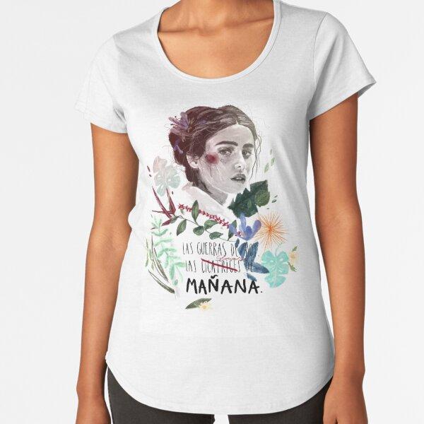 LILI by elenagarnu Premium Scoop T-Shirt
