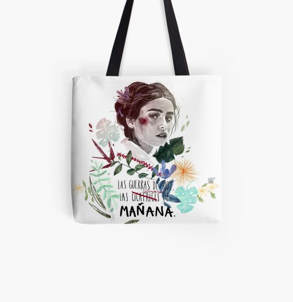 LILI by elenagarnu All Over Print Tote Bag