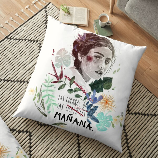 LILI by elenagarnu Floor Pillow