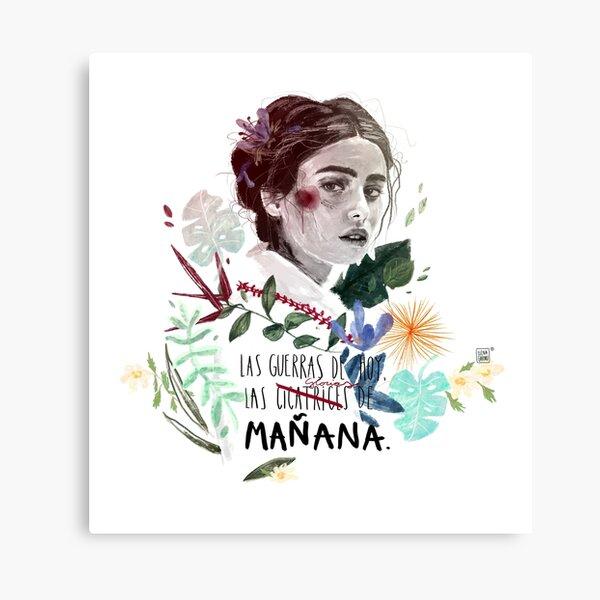 LILI by elenagarnu Canvas Print