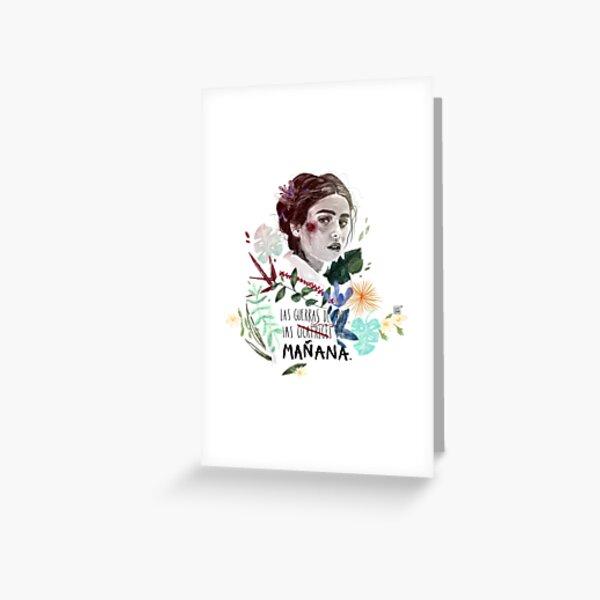 LILI by elenagarnu Greeting Card