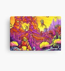 Rick and Morty Landscape Canvas Print
