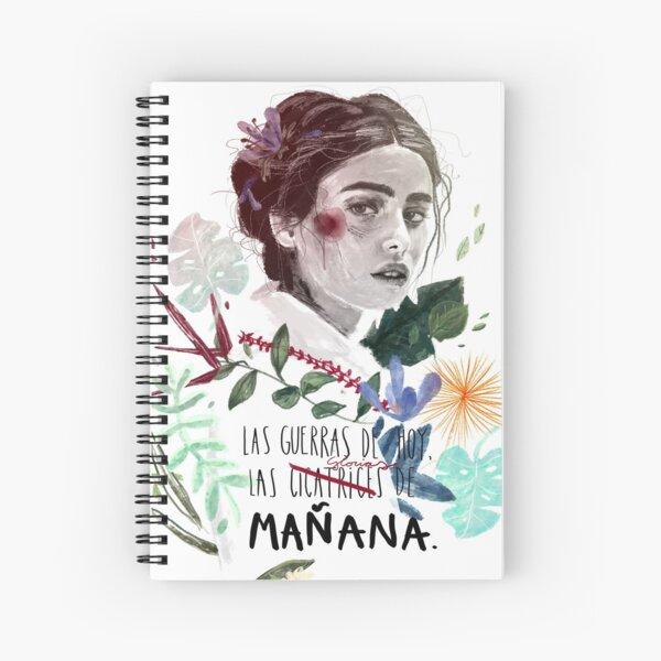 LILI by elenagarnu Spiral Notebook
