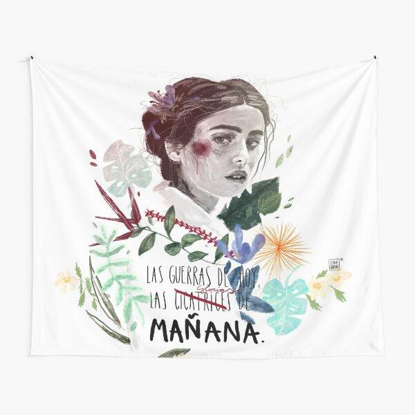 LILI by elenagarnu Tapestry