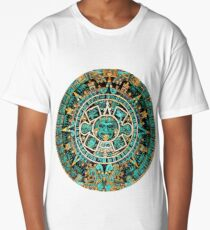 Aztec Calendar Long T-Shirt