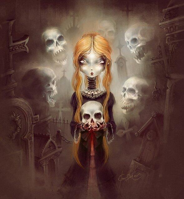 Black Widow - © Art by Élian Black'Mor by Atelier ★ Arsenic et Boule de Gomme