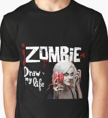 izombie black - draw my life Graphic T-Shirt
