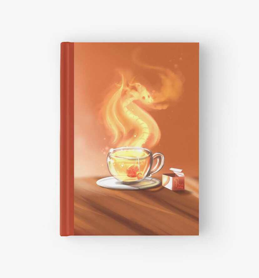 Tea dragon by DigitalCloud