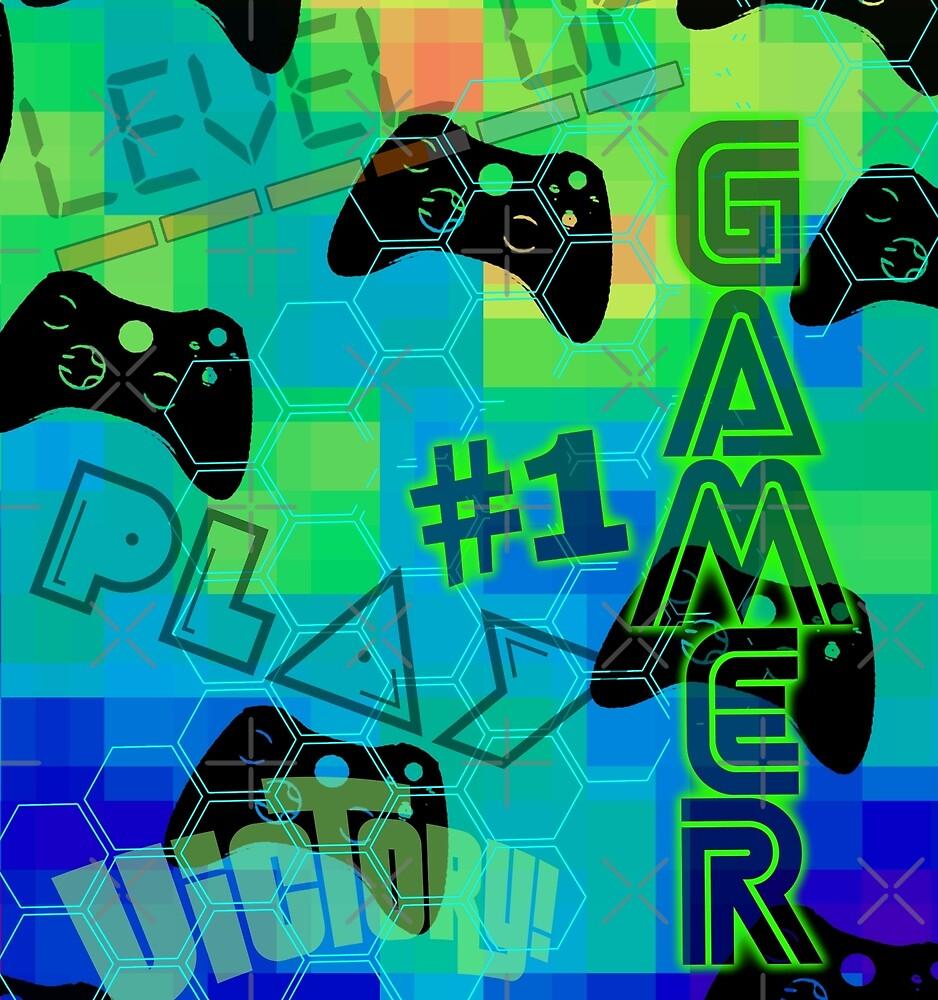 #1 GAMER by stuph4kewlkidz