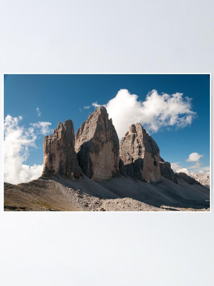 Alternate view of Tre Cime di Lavaredo Poster