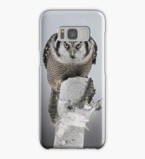 Northern Hawk-Owl Samsung Galaxy Case/Skin
