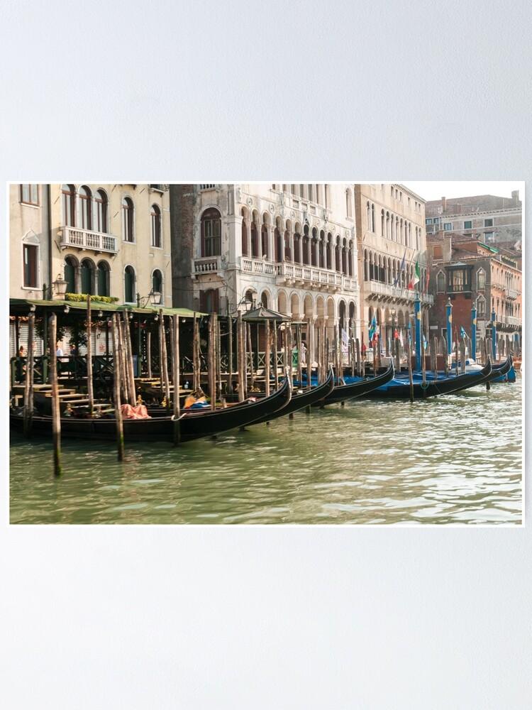 Alternate view of Gondolas Poster