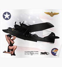 Consolidated PBY-5 Catalina Poster