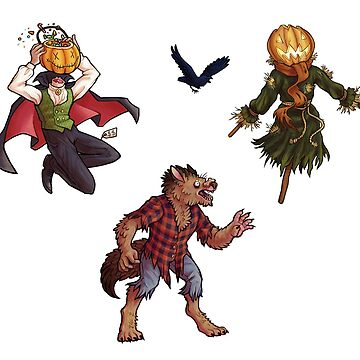 Halloween Stick-or-Treaters by vainglory