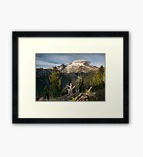 Mount Tahoma Framed Print