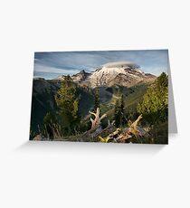 Mount Tahoma Greeting Card