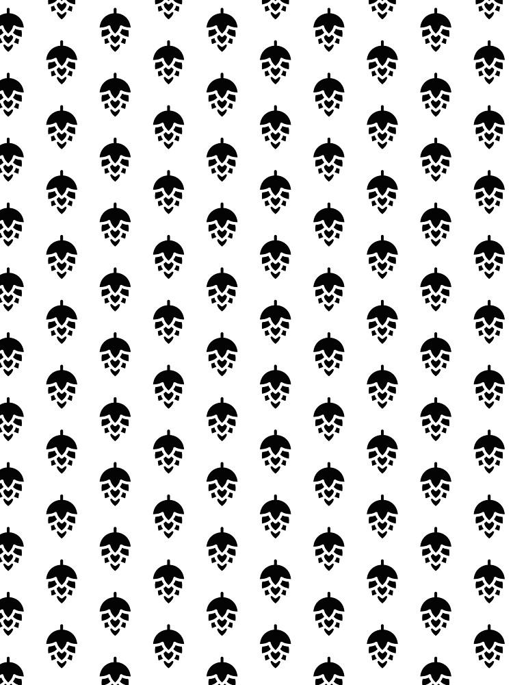 Black hop (pattern) by schoonerversity