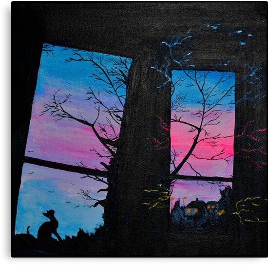 Let the outside in by Sandy Matzen