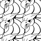 Griffin Pattern by MesteMonokrom