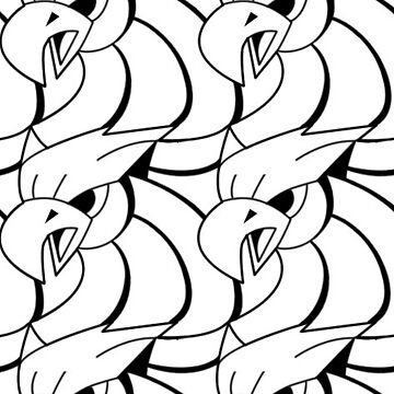 Griffin Pattern by MesteMonokrom