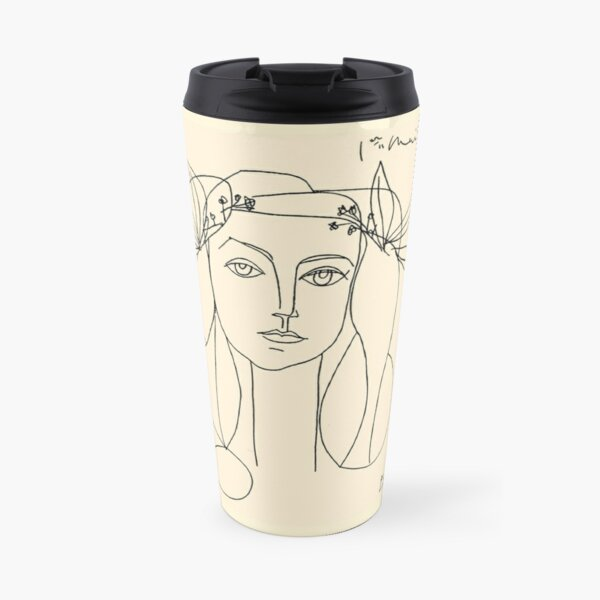 HEAD 1946 : Vintage Abstract Print Travel Mug
