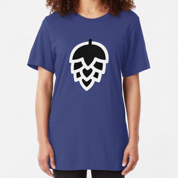 Black hop Slim Fit T-Shirt