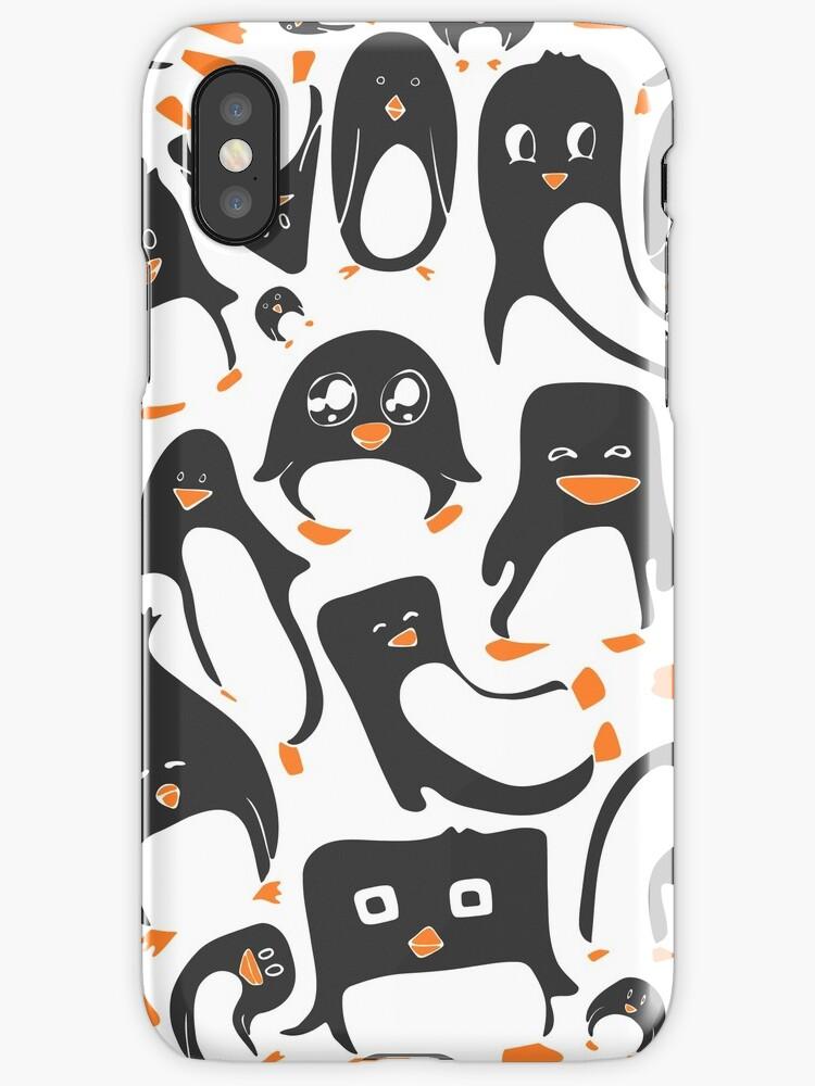Penguin Party by MaijaR