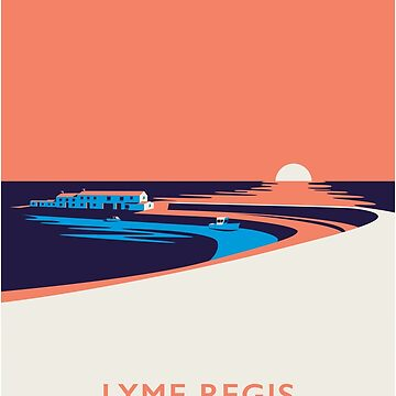 Lyme Regis Seascape - Portrait by Wildyles