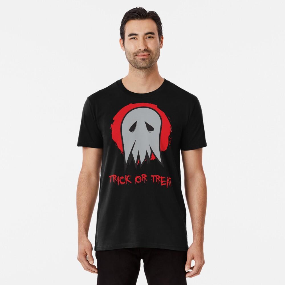 Trick or Treat Ghost Premium T-Shirt