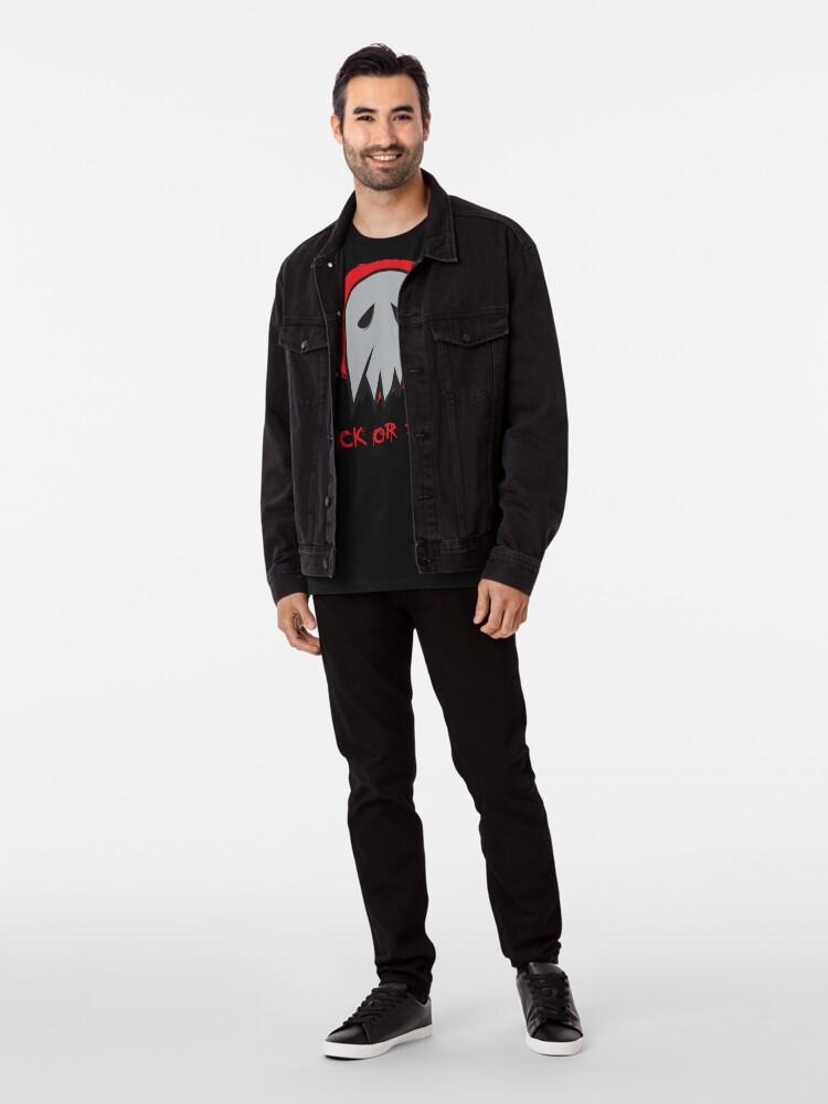 Alternate view of Trick or Treat Ghost Premium T-Shirt