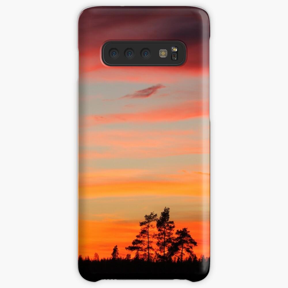 Sunset sky Case & Skin for Samsung Galaxy