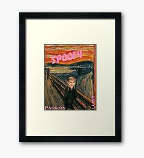 Teen Spoof Framed Print