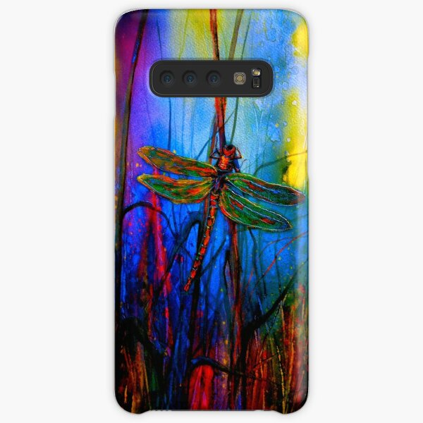Early One Morning..Dragonfly Towards The Light #5 Samsung Galaxy Snap Case