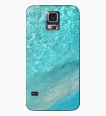 turquoise liquid Case/Skin for Samsung Galaxy
